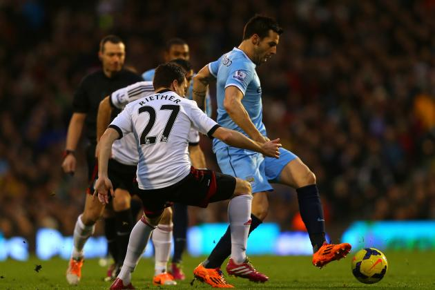 Why Alvaro Negredo Is Vital to Premier League Success for Manchester City