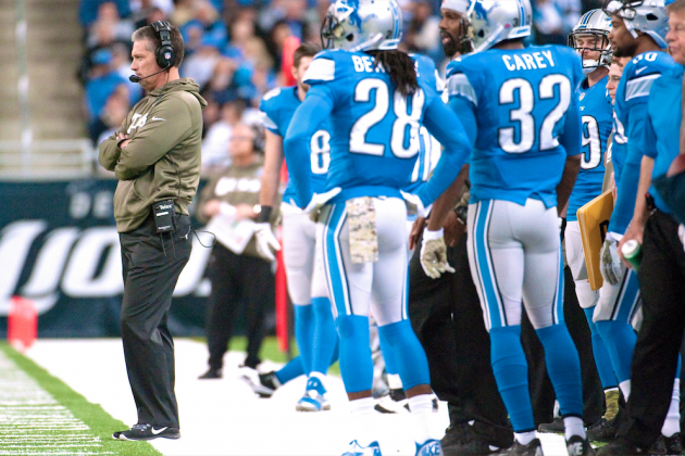 Lions' Loss to Giants Must End Jim Schwartz's Error-Filled Era in Detroit