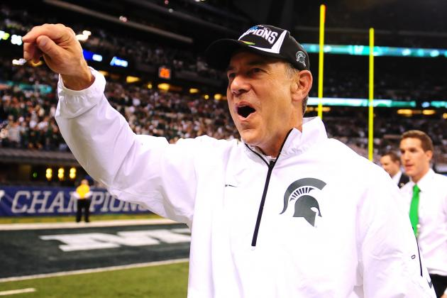 How Faith and Hard Work Took MSU's Dantonio to the Rose Bowl
