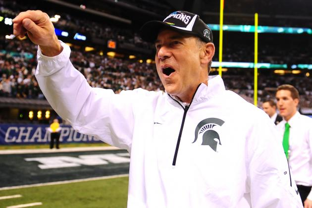 How Faith and Hard Work Took Mark Dantonio to the Rose Bowl