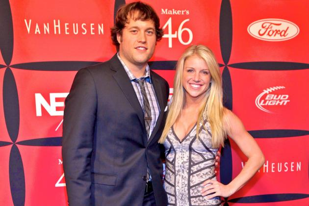 Matthew Stafford's Girlfriend Kelly Hall Trolled on Twitter After Pick-6