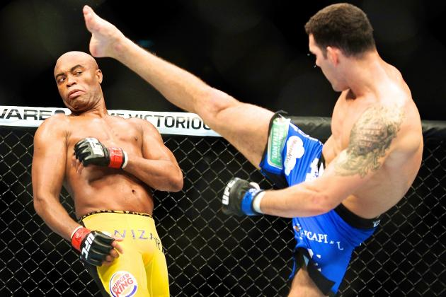 Chris Weidman 'Doesn't Care' Which Anderson Silva Shows Up at UFC 168