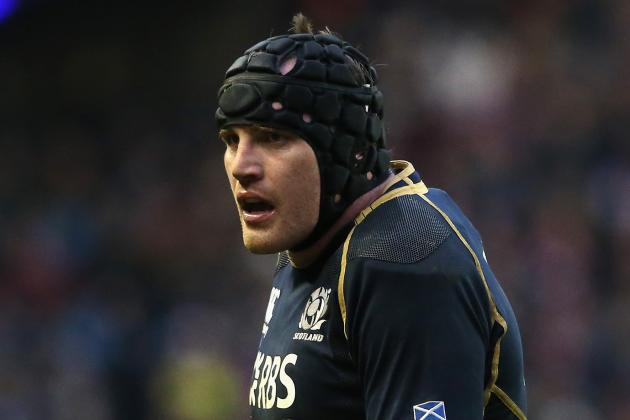 Scotland's Al Kellock out for Four Months Following Arm Surgery