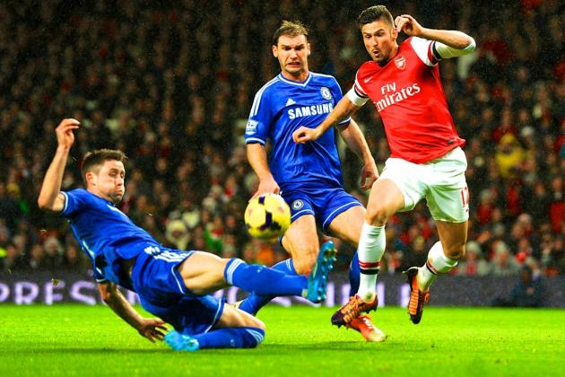 Arsenal vs. Chelsea: Premier League Live Score, Highlights, Report