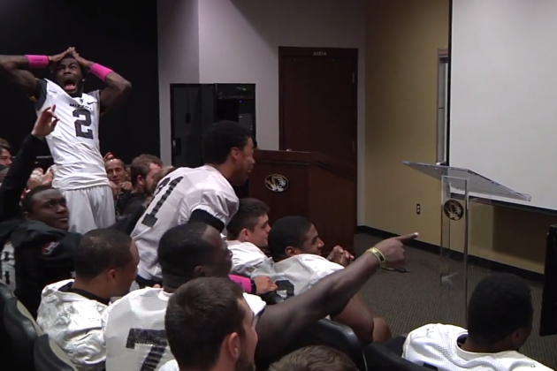 Missouri Tigers React to Getting IPad Minis for the Cotton Bowl