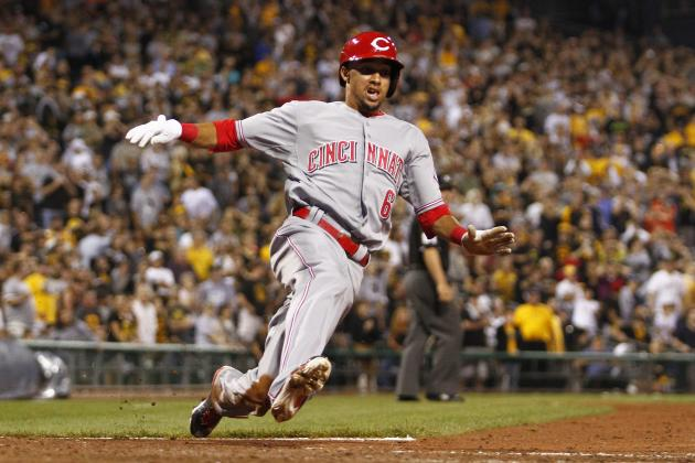 How Reds Lineup Matches Up in National League with Billy Hamilton at the Top
