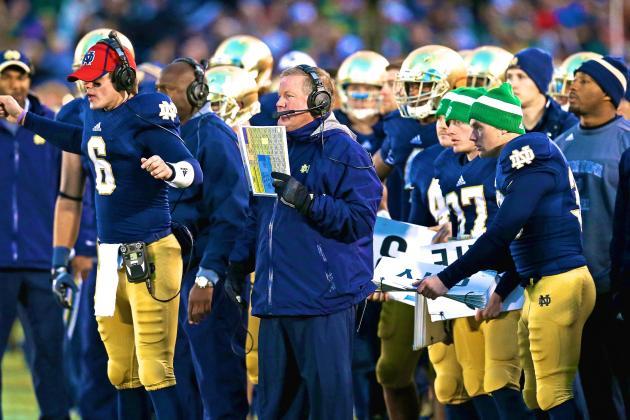 Notre Dame Lays Down Scheduling Gauntlet as College Football Playoff Era Begins