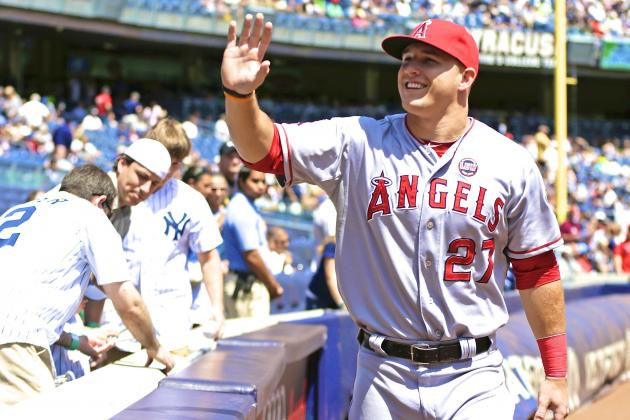 Does Mike Trout Have a Legit Shot at $400 Million Mega-Contract?
