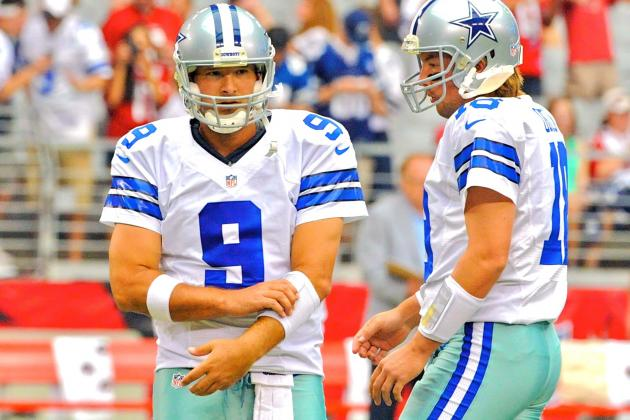 Tony Romo Is Out, No Doubt—and That Means Cowboys Are Dead