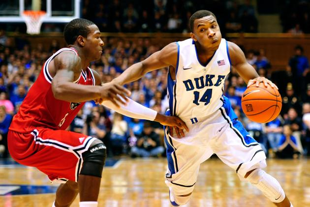 Duke Basketball: How Will Coach K Manage Shooting Guards in ACC Play?