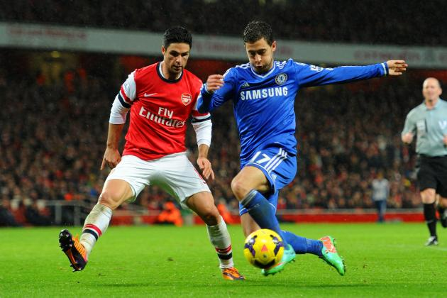 Arsenal vs. Chelsea: Blues Should Feel Content with Draw Against Gunners