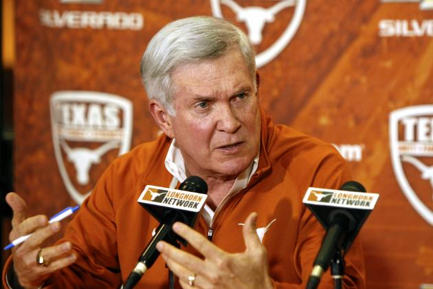 Mack Brown Reportedly Was Forced out of Texas by President Bill Powers