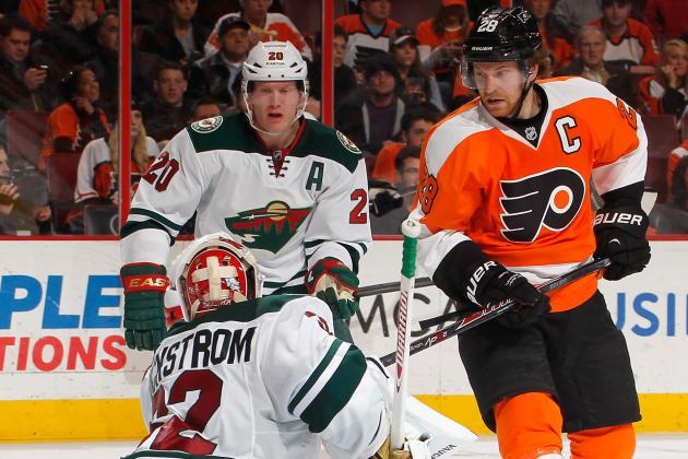 Simmonds, Giroux Power Flyers Past Wild