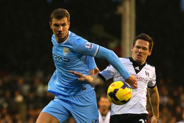 With Sergio Aguero Out, Who Will Edin Dzeko Blame This Time If He Can't Score?