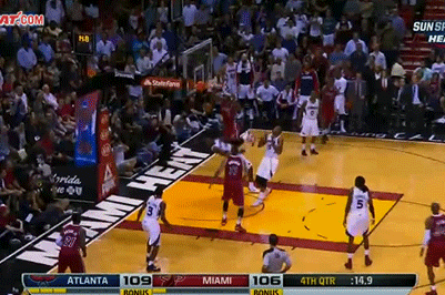 LeBron James Throws Down Nasty Poster Dunk on Paul Millsap