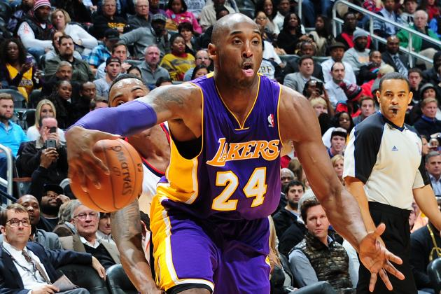 Life Without Kobe Bryant a Glimpse into LA Lakers' Uncertain Future
