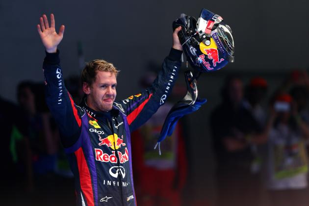 Comparing Sebastian Vettel at 120 Grands Prix with the Greats of Formula 1