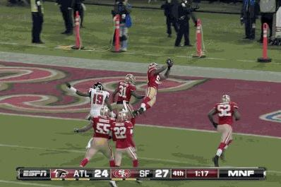 49ers' NaVorro Bowman Redeems Himself with Pick-6 After Missing Onside Kick