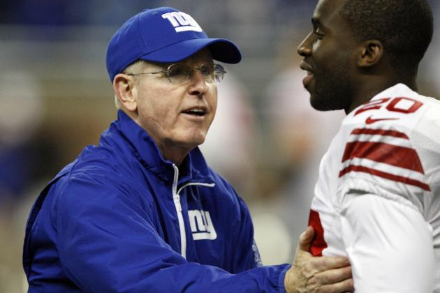 Giants' Tom Coughlin Again Talks About Playing with Pride