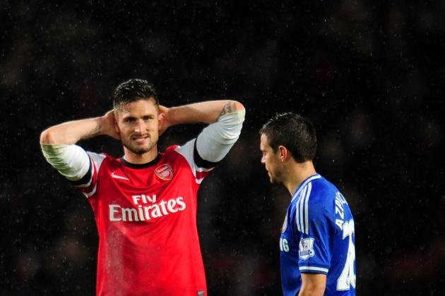 Why Olivier Giroud's Poor Form Could Prove Costly for Arsenal