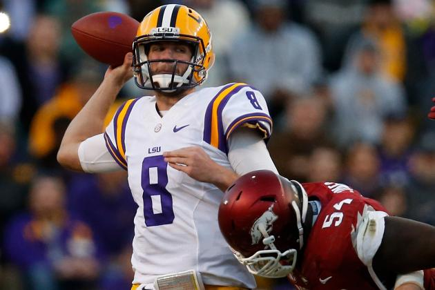 LSU Football: Zach Mettenberger Embraces Coaching Role for Outback Bowl