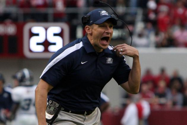 Jeff Monken Named Army Football Coach