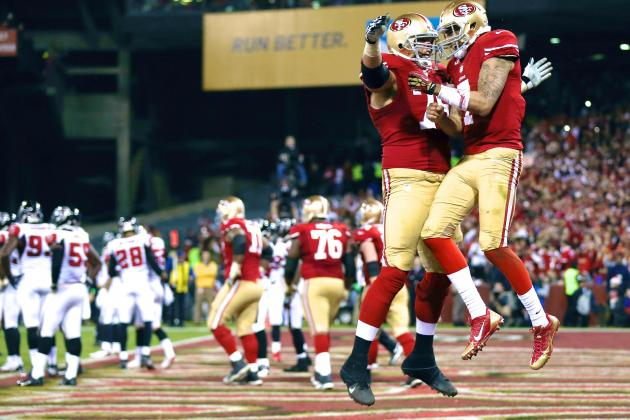 49ers Clinch Playoff Berth, Close out Candlestick Park in Fitting Fashion