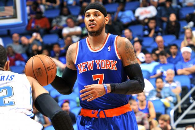 NY Knicks Preview Future Without Carmelo Anthony, and It's Not Pretty