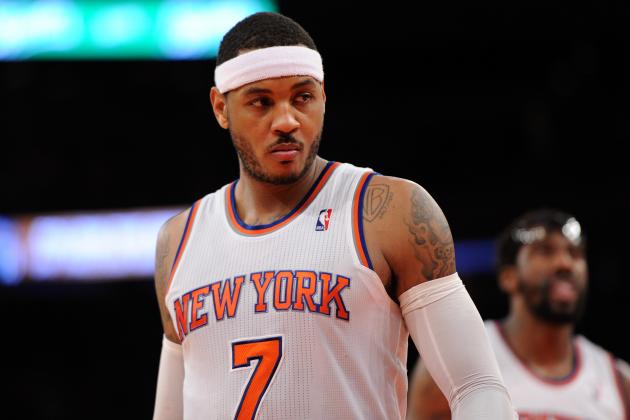 This Time, Carmelo Anthony Is Not to Blame for NY Knicks' Misfortunes