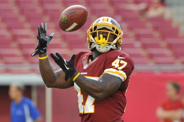 Mom Is the Driving Force for Redskins Running Back Jawan Jamison
