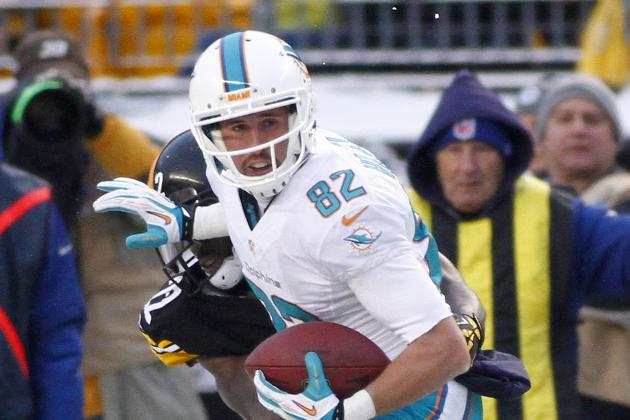 Hartline and Wallace Could Join Elite Company of Dolphins Receivers