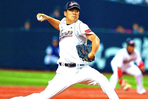 Masahiro Tanaka Officially Posted by Rakuten Eagles