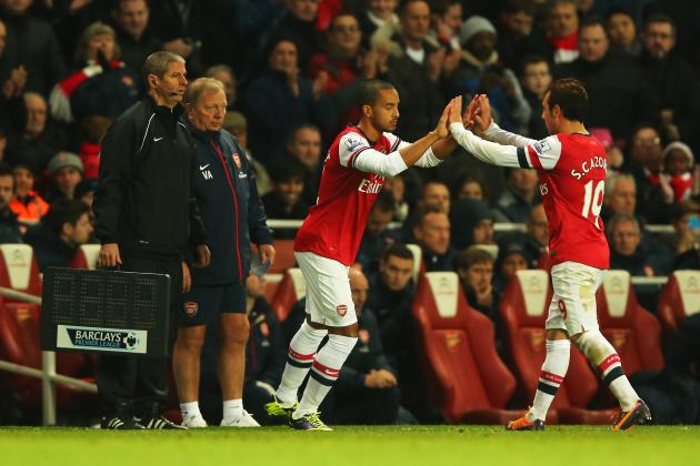 Arsenal and the Theo Walcott-Santi Cazorla Factor in the Race for 2013-14 Title