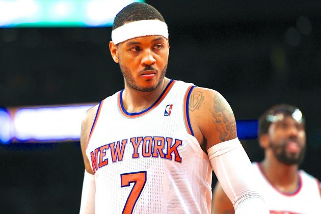 LA Clippers Reportedly NY Knicks' Biggest Threat to Keeping Carmelo Anthony