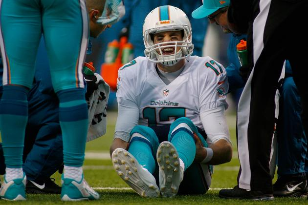 Dolphins QB Ryan Tannehill Appears Fully Healthy Following Knee Injury