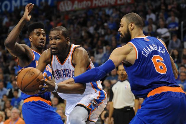 Oklahoma City Thunder vs. New York Knicks: Postgame Grades and Analysis