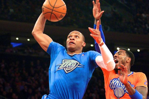 Analyzing Russell Westbrook's Christmas Day Triple-Double vs. New York Knicks