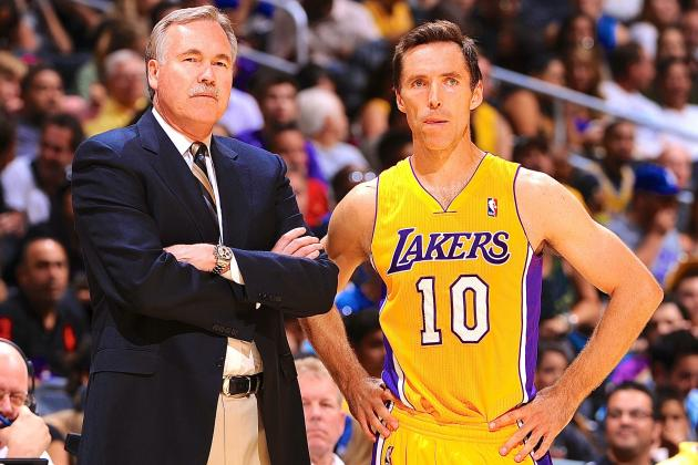 Without Steve Nash, What's Keeping Mike D'Antoni Coaching LA Lakers?