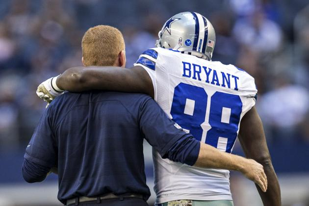 Injury Report: Dez Bryant Limited with a Back Injury