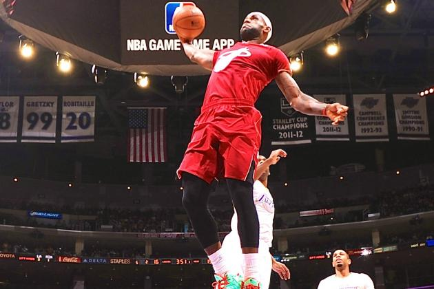 Heat vs. Lakers Christmas Day 2013: Live Score, Highlights and Reaction