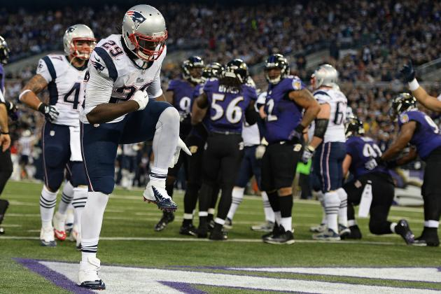 LeGarrette Blount Closing out Games for the New England Patriots