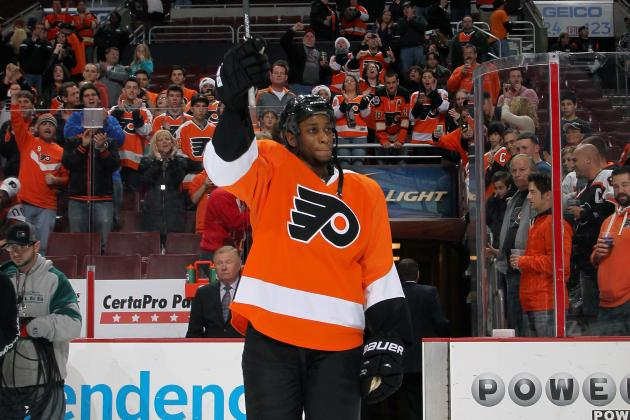 What Wayne Simmonds' Recent Hot Streak Means for the Philadelphia Flyers