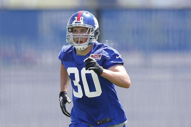 Giants Put Safety Cooper Taylor on Injured Reserve