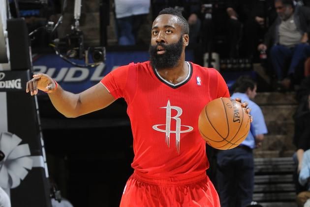 Analyzing James Harden's Christmas Day Performance vs. San Antonio Spurs