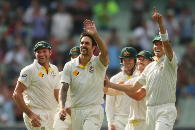 Australia vs. England Ashes 2013: Day 1 Scorecard and Report from 4th Test