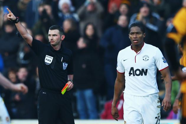 Antonio Valencia Red Card: How Manchester United Will Cope in Star's Absence