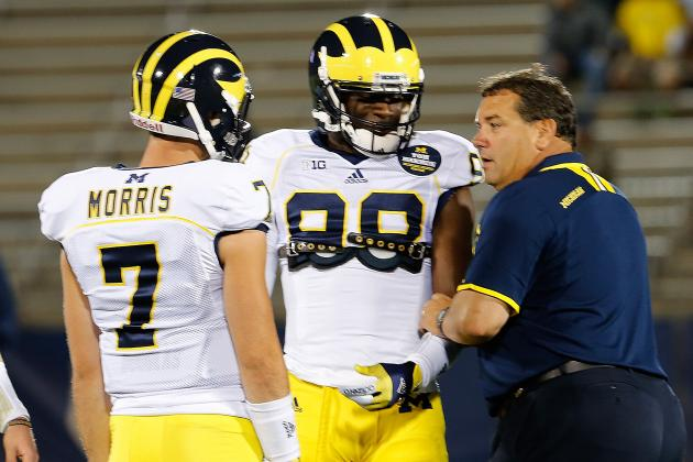 Shane Morris to Start for Michigan in Buffalo Wild Wings Bowl, but Is He Ready?