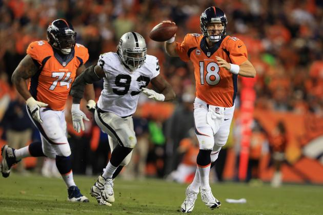 Denver Broncos vs. Oakland Raiders: Spread Analysis and Pick Prediction