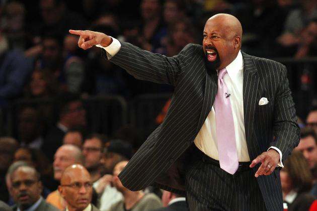 Watch 7 Straight Minutes of the Ultimate Mike Woodson Reaction Reel