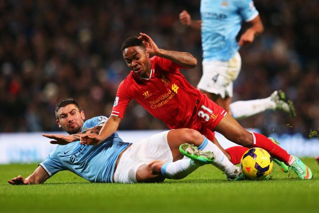 Manchester City vs. Liverpool: Live Player Ratings for City and Reds
